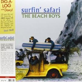 BEACH BOYS (the) : LP+CD Surfin' Safari