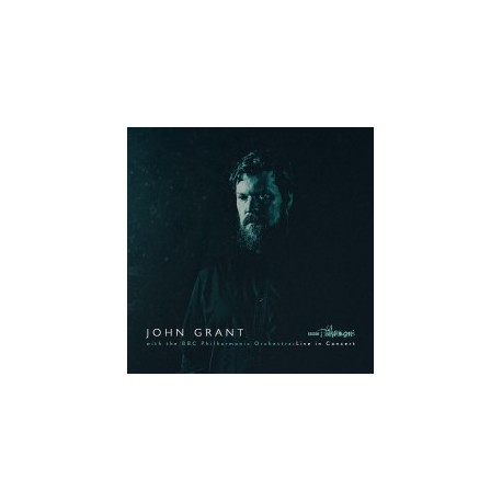 "JOHN GRANT : 12""EP With the BBC Philarmonic Orchestra : Live in concert"