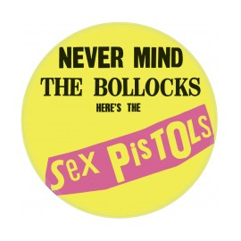 SEX PISTOLS : LP Picture Never Mind The Bollocks