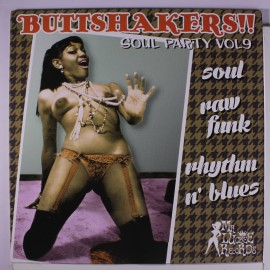 VARIOUS : LP Buttshakers Soul Party Vol09