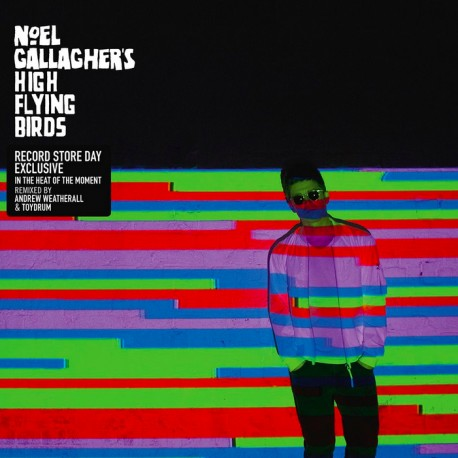 """NOEL GALLAGHER HIGH FLYING BIRDS : 12""""EP In the Heat of the Moment Remix"""