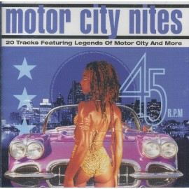 VARIOUS : CD Motor City Nites