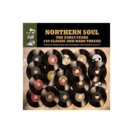 VARIOUS : CDx4 Northern Soul : The Early Years - 100 Classic And Rare Tracks