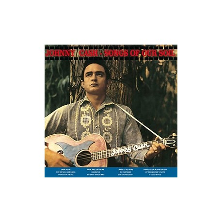 JOHNNY CASH : LP Songs Of Our Soil