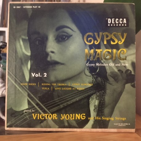 VICTOR YOUNG AND HIS SINGING STRINGS : Gypsy Magic Vol2