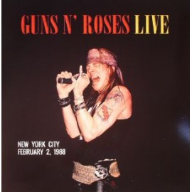 GUNS N' ROSES : LP Live New York City February 2, 1988