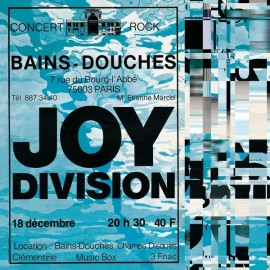 JOY DIVISION : LP Les Bains-Douches
