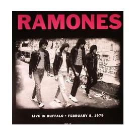 RAMONES (the) : LP Live In Buffalo, February 8, 1979