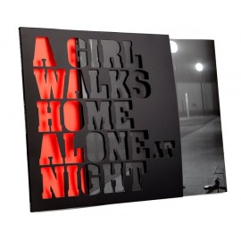 VARIOUS : LP A Girl Walks Home Alone At Night