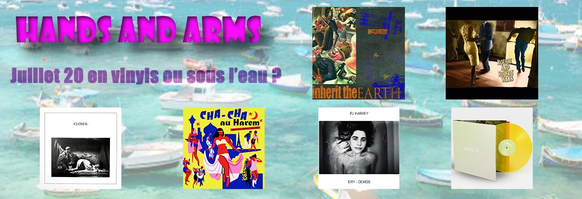HANDS AND ARMS - Juillet 20 en vinyls ou sous l'eau ?