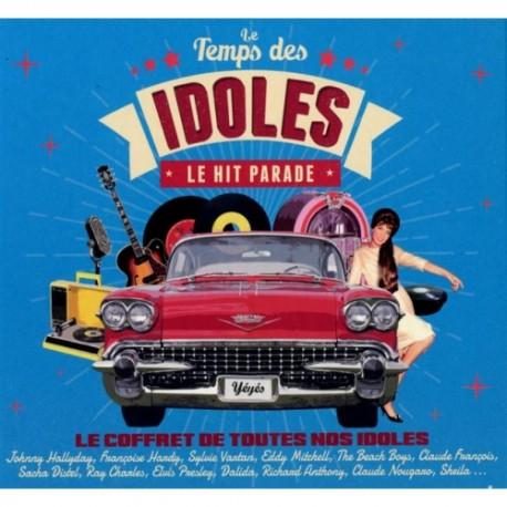 VARIOUS : CDx4 Le Temps Des Idoles - Le Hit Parade