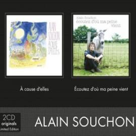 SOUCHON Alain : CDx2 Alain Souchon