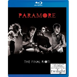 PARAMORE : DVD BLU RAY The Final Riot!