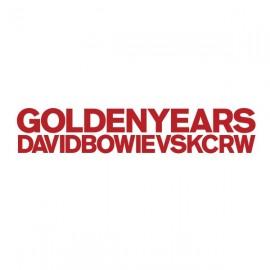 "BOWIE David VS KCRW : 12""EP Golden Years"