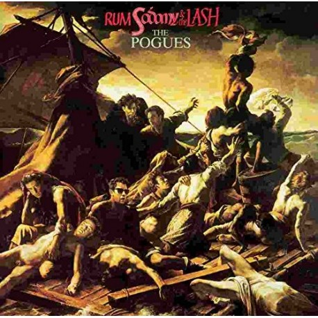 POGUES (the) : LP Rum Sodomy & The Lash