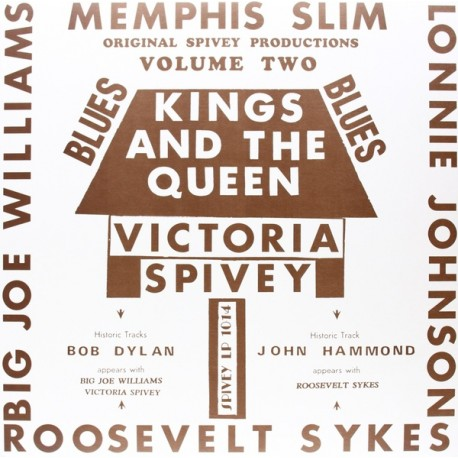 VARIOUS : LP Kings And The Queen (Volume Two)