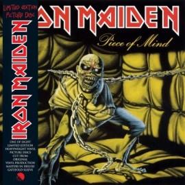 IRON MAIDEN : LP Picture Piece Of Mind