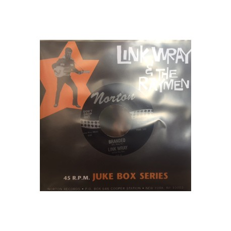 LINK WRAY & THE RAYMEN : Branded