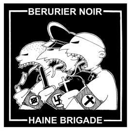 SPLIT BERURIER NOIR / HAINE BRIGADE : Soutien à la Revue Courant Alternatif