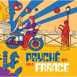 VARIOUS : LP Psyché France 70's Vol 2