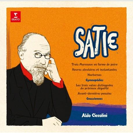 SATIE Erik : LP Gymnopédies, Gnossiennes etc. – Aldo Ciccolini