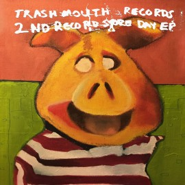 VARIOUS : LP TRASHMOUTH RECORDS 2ND