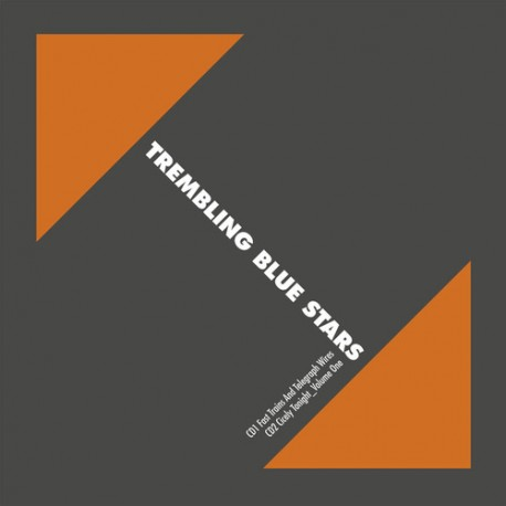 """TREMBLING BLUE STARS : LPx2+7""""EP Fast Trains And Telegraph Wires"""