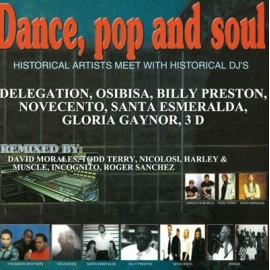VARIOUS : CD Dance, Pop And Soul