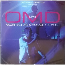 ORCHESTRAL MANOEUVRES IN THE DARK : CD OMD Live (Architecture & Morality & More)