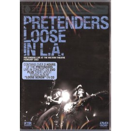 PRETENDERS (the) : DVD+CD Loose In L.A.
