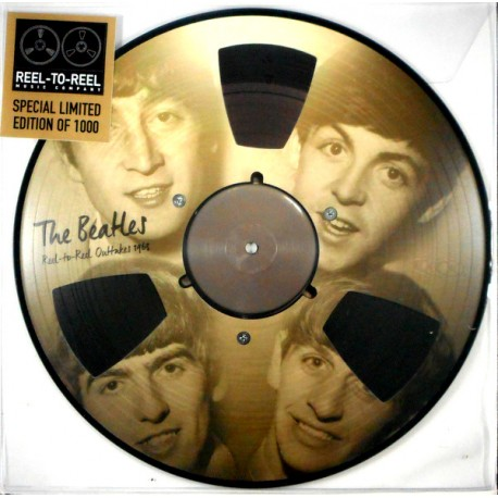 BEATLES (the) : LP Picture Reel To Reel Outtakes 1963