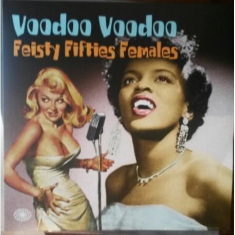 VARIOUS : LPx2 Voodoo Voodoo - Feisty Fifties Females