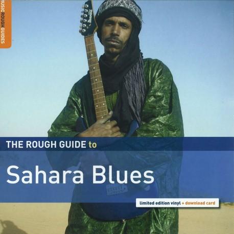 VARIOUS : LP The Rough Guide To Sahara Blues
