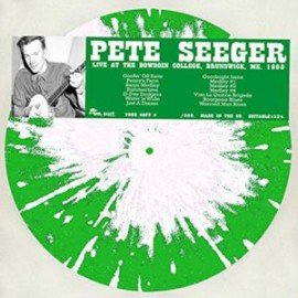 SEEGER Pete : LP Live at The Bowdoin College, Brunswick, ME. 1960