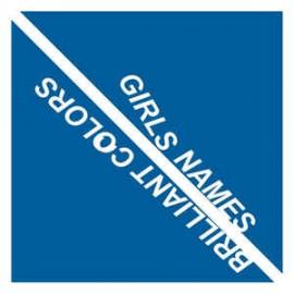 SPLIT GIRLS NAMES / BRILLIANT COLORS