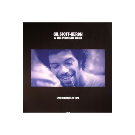 SCOTT-HERON Gil : LP Live In Berkeley 78