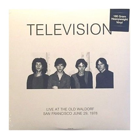 TELEVISION : LP Live At The Old Waldorf