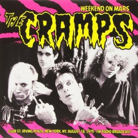 CRAMPS (the) : LP Weekend On Mars
