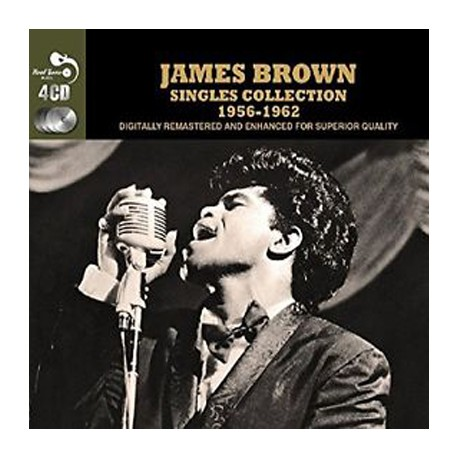 JAMES BROWN : CDx4 Singles Collection 1956-1962
