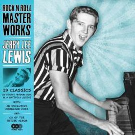 JERRY LEE LEWIS : LP x2+CD Rock'n Roll Master Works