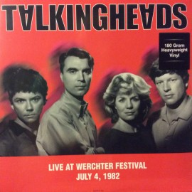 TALKING HEADS : LP Live At Werchter Festival July 4, 1982