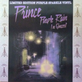 PRINCE : LP Purple Rain In Concert