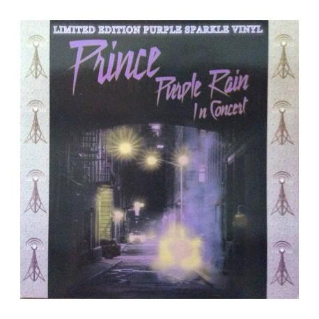 PRINCE : LP Purple Rain In Concert