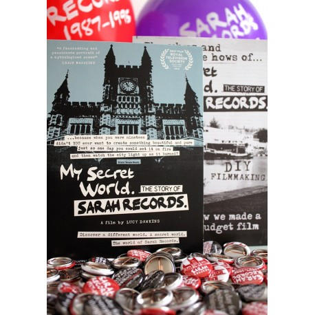 DVD MY SECRET WORLD, THE STORY OF SARAH RECORDS