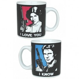 STAR WARS MINI MUG I LOVE YOU / I KNOW