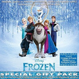 BECK Christophe : CDx3 Frozen, Special Gift Pack