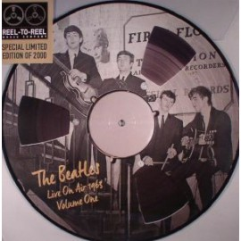 BEATLES (the) : LP Picture Live On Air 1963 Volume One