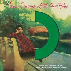 SIMONE Nina : LP Little Girl Blue