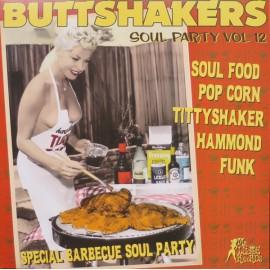 VARIOUS : LP Buttshakers Soul Party Vol12