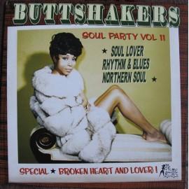 VARIOUS : LP Buttshakers Soul Party Vol11